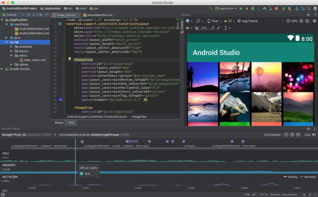 """Android Studio's Emulator"""